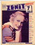 Madge Evans on the cover of Zenit (Italy) - February 1935