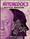 Alfred Hitchcock on the cover of Alfred Hitchcocks Mystery Magazine (United States) - December 1952