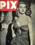 Rita Hayworth on the cover of Pix (Australia) - July 1952