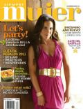 Kate del Castillo on the cover of Siempre Mujer (Mexico) - December 2010