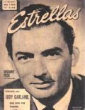 Gregory Peck on the cover of Estrellas (Argentina) - August 1954