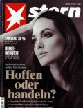 Angelina Jolie on the cover of Stern (Germany) - May 2013