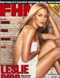 Leslie Bibb on the cover of Fhm (United Kingdom) - May 2001