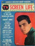 Fabian on the cover of TV and Screen Life (United States) - October 1959