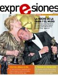 Jean Dujardin, Meryl Streep on the cover of Expresiones (Ecuador) - February 2012