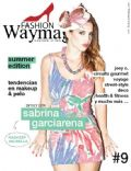 Sabrina Garciarena on the cover of Fashion Way Magazine (Argentina) - January 2012