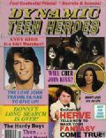 Ace Frehley, Andy Gibb, Cher, Gene Simmons, Paul Stanley, Peter Criss on the cover of Dynamic Teen Heroes (United States) - October 1978