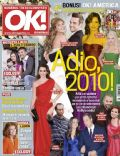 Ayda Field, Christina Aguilera, Eva Longoria, Kate Middleton, Penélope Cruz, Prince William Windsor, Prince Windsor and Kate Middleton, Robbie Williams, Robbie Williams and Ayda Field, Sandra Bullock, Sophia Loren, Tiger Woods, Tony Parker on the cover of Ok (Romania) - December 2010