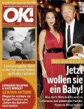 Boris Becker, Lilly Kerssenberg on the cover of Ok (Germany) - January 2009