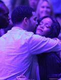 Aubrey Graham and Rihanna