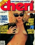 on the cover of Cheri (United States) - January 1988