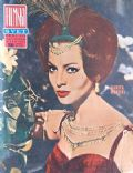 Sara Montiel on the cover of Filmski Svet (Yugoslavia Serbia and Montenegro) - June 1966