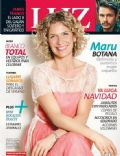 Maru Botana on the cover of Luz (Argentina) - December 2013