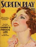 Ruby Keeler on the cover of Screen Play (United States) - August 1933