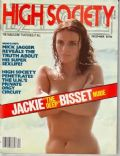 Jacqueline Bisset on the cover of High Society (United States) - December 1978