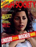 Lindsay Wagner on the cover of High Society (United States) - May 1979