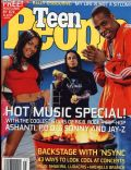 Ashanti, Jay-Z on the cover of Teen People (United States) - July 2002