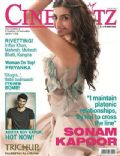 Sonam Kapoor on the cover of Cineblitz (India) - July 2013