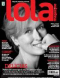 Meryl Streep on the cover of Lola (Brazil) - March 2013