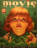 A. MOZERT, A. MOZERT, Katharine Hepburn on the cover of Movie Mirror (United States) - November 1934