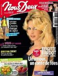 Brigitte Bardot on the cover of Nous Deux (France) - July 2011