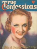 Carole Lombard, Edwin Bower Hesser on the cover of True Confessions (United States) - January 1932
