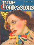 Edwin Bower Hesser, Joan Crawford on the cover of True Confessions (United States) - October 1932