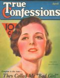Edwin Bower Hesser, Henry Clive, Mary Astor on the cover of True Confessions (United States) - April 1932