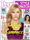 Reese Witherspoon on the cover of People Style Watch (United States) - May 2009