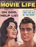 Elizabeth Taylor on the cover of Movie Life (United States) - February 1961