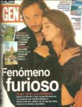 Diego Torres, Laura Novoa on the cover of Gente (Argentina) - June 1997