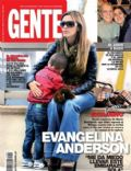 Evangelina Anderson on the cover of Gente (Argentina) - July 2012