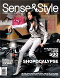 Erich Gonzales on the cover of Sense and Style (Philippines) - November 2009