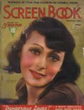 Luise Rainer on the cover of Screen Book (United States) - January 1938