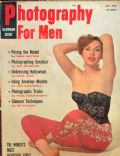 Diane Webber on the cover of Photography For Men (United States) - July 1958