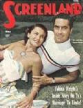 Tyrone Power on the cover of Screenland (United States) - May 1949