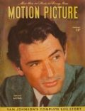 Gregory Peck on the cover of Motion Picture (United States) - February 1946