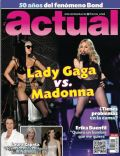 Lady Gaga, Madonna on the cover of Actual (Mexico) - November 2012