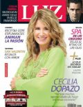 Cecilia Dopazo on the cover of Luz (Argentina) - February 2014