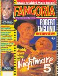 Robert Englund on the cover of Fangoria (United States) - September 1989