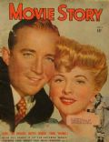 Bing Crosby, Joan Fontaine on the cover of Movie Story (United States) - July 1948