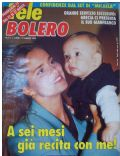 Grecia Colmenares on the cover of Tele Bolero (Italy) - March 1993