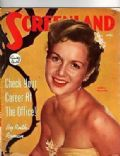 Debbie Reynolds on the cover of Screenland (United States) - April 1952
