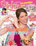 Florencia Bertotti on the cover of Pinky (Italy) - January 2011