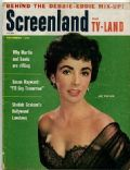 Elizabeth Taylor on the cover of Screenland (United States) - November 1955