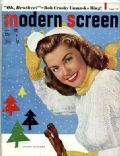 Esther Williams on the cover of Modern Screen (United States) - February 1949