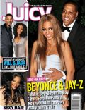 Beyoncé Knowles, Jay-Z on the cover of Juicy (United States) - November 2011