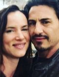 Juliette Lewis and Brad Wilk