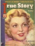 Claire Trevor on the cover of True Story (United States) - October 1934