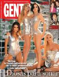 Brenda Gandini, Carolina Oltra, Chachi Telesco, Luli Fernandez on the cover of Gente (Argentina) - November 2007